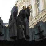 PHOTOS LITUANIE VILNIUS 3 MUSES THEATRE D'ART DRAMATIQUE