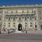 VISITE DE STOCKHOLM ENTREE CHATEAU ROYAL