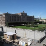 VISITE DE STOCKHOLM CHATEAU ROYAL