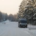 la roulotte  sur la neige (Small)