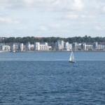 traversée et arrivée en suede à helsingborg