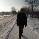 un marcheur à Senftenberg (Small)