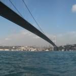 44-pont sur le BOSPHORE-portée de 1060M en tre les deux piles 722 [640x480]