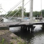 ponts mobiles sur canaux