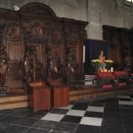 sculpture de l'église