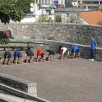 PHOTOS SLOVAQUIE entrainement à bratislava