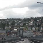 en montant vers la norvége tromso