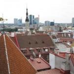 vue sur la vieille ville de tallinn