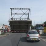 ponts se levant pour le passage des bateaux