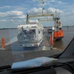 passage de fleuve en ferry