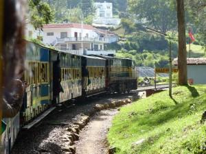 TRAIN DEPUIS OOTY